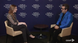 Interview in Davos on Competitiveness, China and Trump